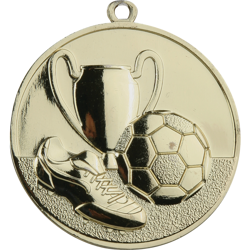 Triumph Gold Football Medal