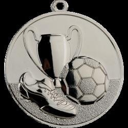 Triumph Silver Football Medal