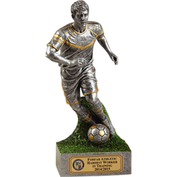 Active Player Football Trophy