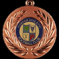 Classic Football Medal Bronze