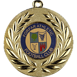 Classic Football Medal Gold
