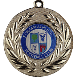 Classic Football Medal Silver