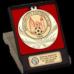 Elite Gold Football Medal