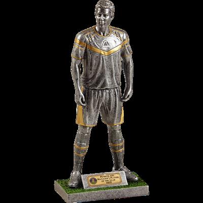 Elite Player Silver Football Trophy