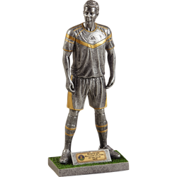 Elite Player Silver Football Trophy