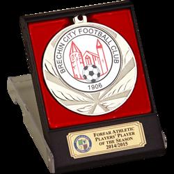 Elite Silver Football Medal