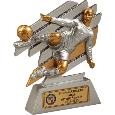 Motion Player Football Trophy