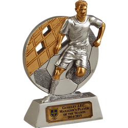Rapid Player Football Trophy