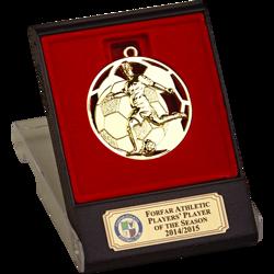 Swift Gold Football Medal