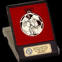 Swift Silver Football Medal