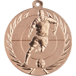 Action Football Medal Bronze