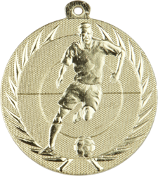 Action Football Medal Gold