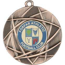 Champion Football Medal Bronze