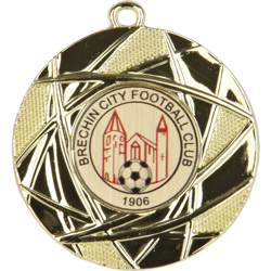Champion Football Medal Gold