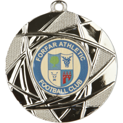 Champion Football Medal Silver