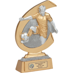 Target Player Football Trophy