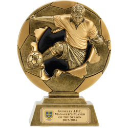 Xplode 2D Football Trophy