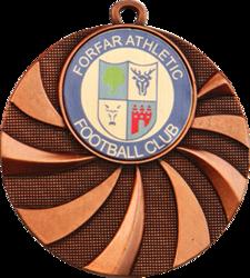 Blast Football Medal Bronze