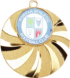 Blast Football Medal Gold