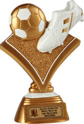 Gold Strike Football Trophy