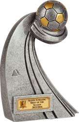 Torque Ball Football Trophy